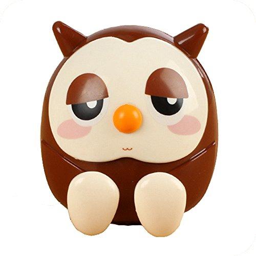 MA87 Mini Owl Coin Bank Sparschwein Multifunktionale Geschenke Einrichtungsgegenstände 1pc Zufällige Lieferung