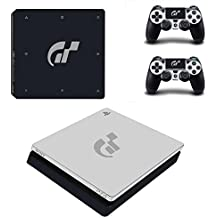 Hytech Plus Gran Turismo Sport Special Edition Theme Sticker For PS4 Slim Console & 2 Controllers