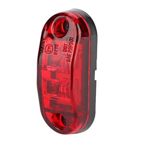 Topzon LED-Seitenmarkierungsleuchten - Universelle LED-Piranha-Auto-Seitenleuchten Helle Signalleuchten