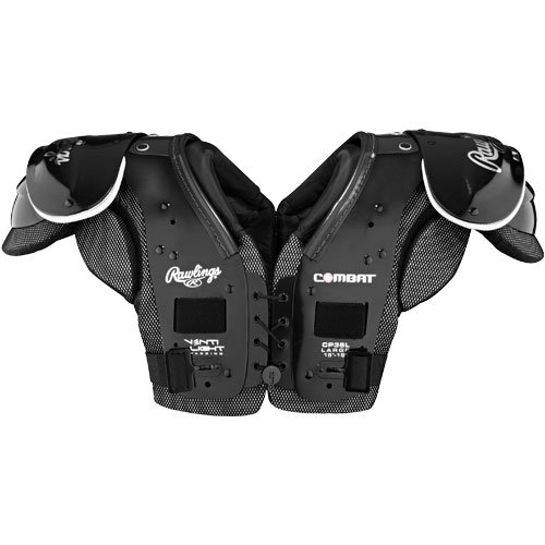 Rawlings Combat 36L Fußball-Schulterpolster, XX-Large