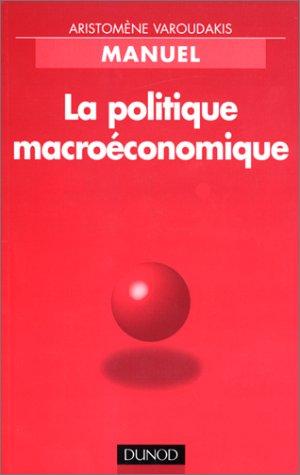 La politique macroéconomique
