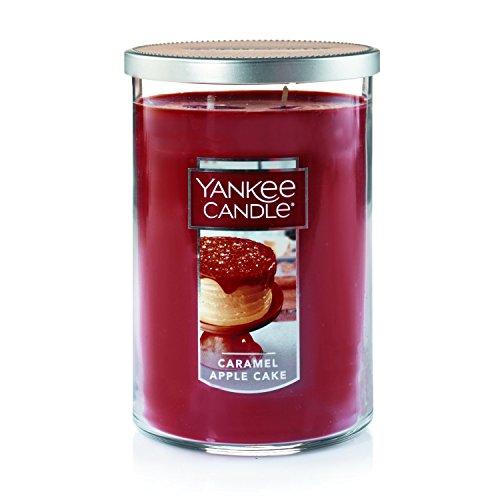YANKEE CANDLE Company Caramel Apple Kuchen Kerzen Large 2-Wick Tumbler Candle braun