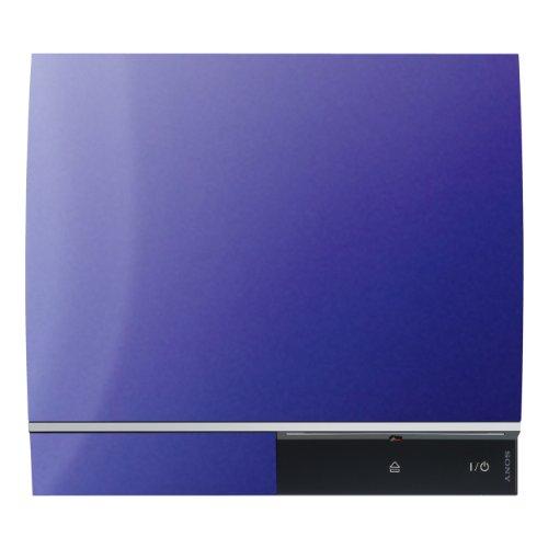 Disagu Design Skin für Sony PS3 liegend + Controller - Motiv Lila Nebel (Controller Ps3 Skin-lila)
