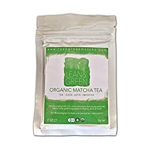 Matcha Green Tea Powder - Ceremonial Grade - Organic - Lean & Green matcha tea