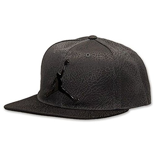 808c98e5770 ... coupon for nike air jordan jumpman elephant print black adjustable  youth boys cap d2477 fb50e