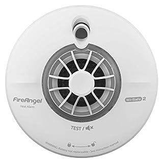 FireAngel WHT630 Radio-Interlink Heat Alarm with 10 Year Lithium Battery