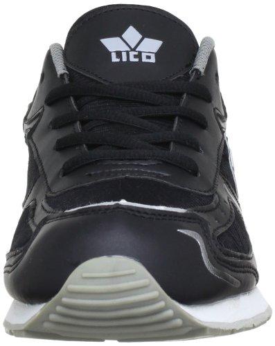 Lico Nelson, Chaussures de sport homme Noir (Schwarz/Grau)