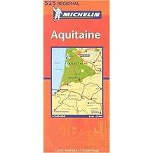Carte routière : Aquitaine, N° 11525