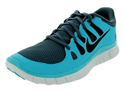 Nike Men's Free 5.0+ Running Shoe Dark Armry Bl / Black / Gamma Blue / Smmt Wh 11.5 D(M) US
