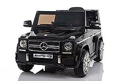 Kaufexpress Mercedes Benz G65 AMG Jeep SUV Kinderfahrzeug Kinderauto Elektroauto Fernbedienung MP3 Anschluss in Schwarz