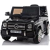 Mercedes Benz G65 AMG Jeep SUV Kinderfahrzeug Kinderauto Elektroauto Fernbedienung MP3 Anschluss in Schwarz