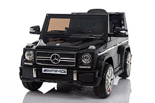 *Kaufexpress Mercedes Benz G65 AMG Jeep SUV Kinderfahrzeug Kinderauto Elektroauto Fernbedienung MP3 Anschluss in Schwarz*