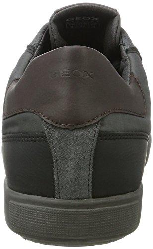 Geox Herren U Taiki B ABX B Sneaker Grau (Anthracite)