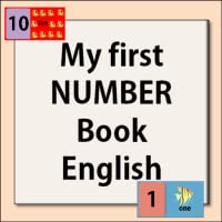 My first NUMBER book-English
