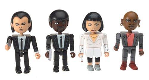 Pulp Fiction – The Cast 4 Figuras PVC 8Cm
