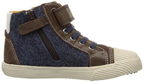 Geox B Kiwi C, Chaussures Marche Bébé Garçon Braun (DK BROWN/NAVYC0946)