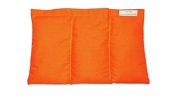 Miglio Cuscino 20 X 30 Arancione Miglio Riscaldabile Amazon It Casa E Cucina
