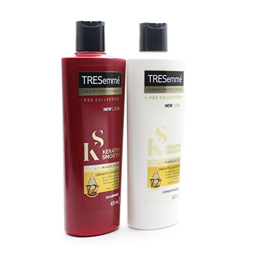 Tresemme Keratin Smooth Pro Kollektion Shampoo und Conditioner Set 2 x 400 ml