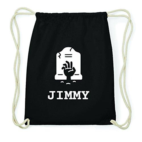 JOllify Turnbeutel Halloween für Jimmy - Grab Friedhof