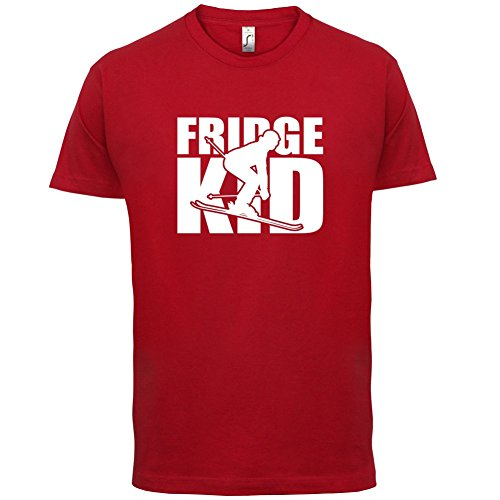 Fridge Kids Ski - Herren T-Shirt - 13 Farben Rot