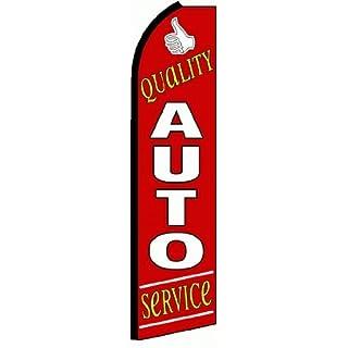 Swooper Flaggen Auto Repair