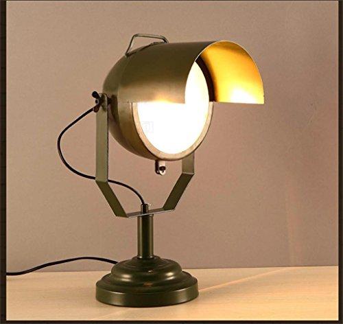 Mall-sonde (Shopping- Kreative Designer-Wohnzimmer Schreibtischlampe Wachen Kappe Iron Bar Cafe Bar Sonde dekorative Lampe)