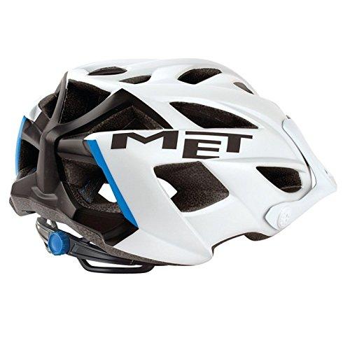 Caschetto da bici MET Terra opaco, white/black, 54-61 cm, 3HELM91UNBI