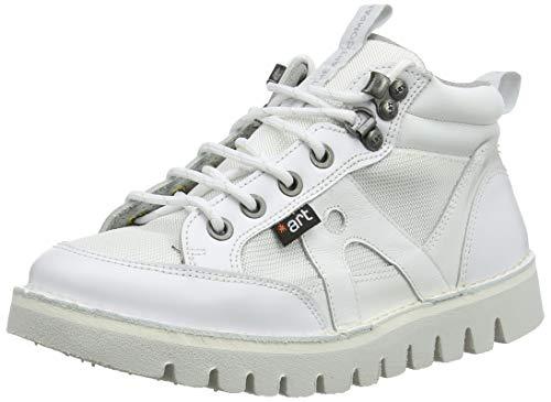 Art 1582 Multi Leather Ontario, Botas Clasicas Unisex Adulto, Blanco White White, 45 EU