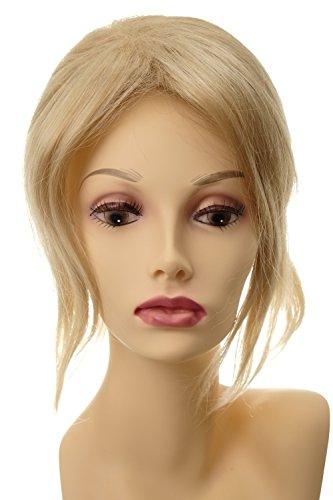 WIG ME UP - Toupet lang und voluminös Haarteil Haarersatz Aufsatz Haarauffüller Clip-In ca. 30 cm Blond Goldblond-Platinblond-Mix L056-24BT613