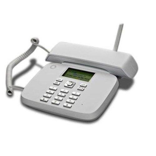 Teléfono fijo Vodafone - Funciona con tarjeta SIM, sin necesidad de tener línea en casa - Compatible con compañías: Wind, Tim, Vodafone