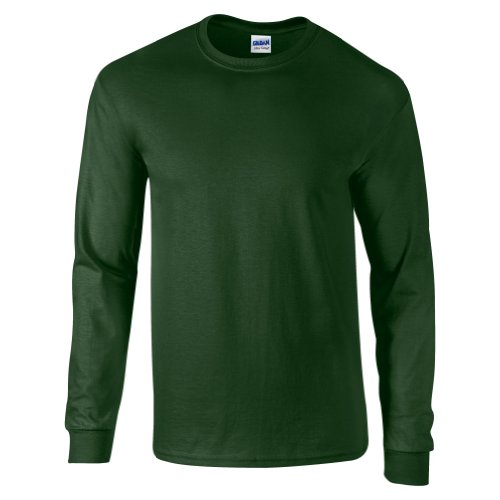 Maschine Ringer (Ultra Cotton Classic Fit Adult T-Shirt - Farbe: Forest Green - Größe: XL)