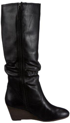 Clarks Master Gleam 203508414, Stivali donna Nero (Schwarz (Black Leather))