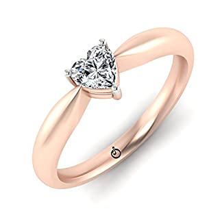 Stylori Eliza 18k Rose Gold and Diamond Ring