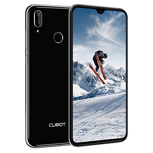 CUBOT R15 Pro 4G Smartphone (15,9cm (6,26 Zoll) HD+ Display 16MP Rückkamera 13MP Selfie Frontkamera, 32GB interner Speicher + 3GB RAM 3000mAh Akku Android 9.0 Duan Nano SIM Handy ohne Vertrag -Schwarz