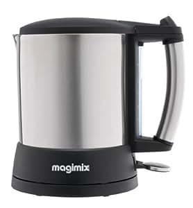 Magimix 11158 Bouilloire Pichet 1.5L Base Rotative 360Ø 1800W Sans Fil Inox