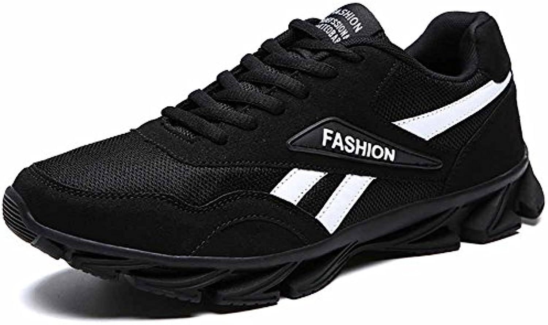 GLSHI Zapatos atléticos de la Manera Ligera de los Hombres 2018 Nuevos Zapatos Ocasionales Zapatos Corrientes