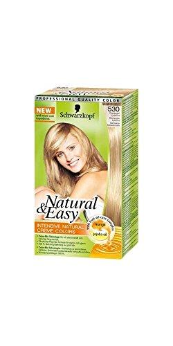 tinta per capelli permanente natural & easy n 530 biondo champagne