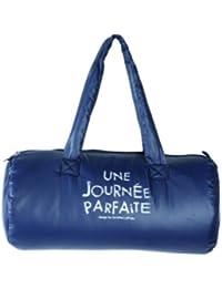 Caroline Lisfranc - Sac polochon journ'e bleu navy