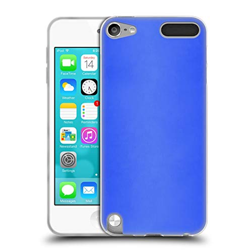Head Case Designs Offizielle Beli Blau Marokko Gewebe Soft Gel Huelle kompatibel mit Apple iPod Touch 5G 5th Gen