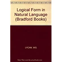 Logical Form in Natural Language (Bradford Books)