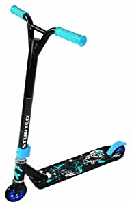 stunted boy 39 s stunt scooter xt blue black sports outdoors