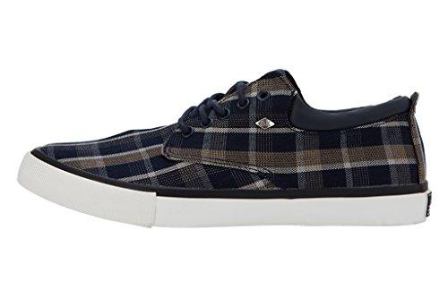 British Knights Juno Herren Sneakers Bleu marine/beige