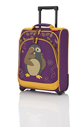 Travelite Kindertrolley 22 Liter & Boardtasche 14 Liter in verschiedenen Farben / Motiven (Kauz)