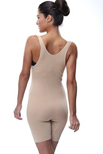 Franato Damen Shapewear Figurformender Formende Bodys Shaping Bodysuit Nackt
