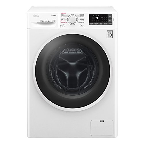 LG F4J6TY0WW Direct Drive Freestanding Washing Machine 8kg 1400rpm White