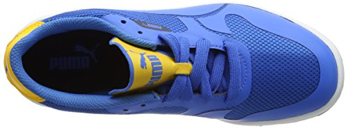 Puma Icra Evo Jr, Scarpe da Ginnastica Basse Unisex – Bambini Blu (French Blue-french Blue 04)