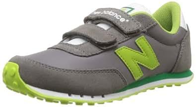 New Balance Ke410Rry, Baskets mode mixte enfant, Gris (Grey/Green), 4 UK Child