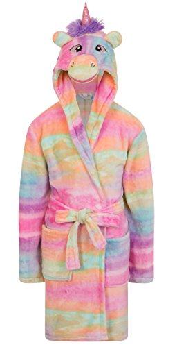 Girls Kids Hooded Unicorn Dressi...
