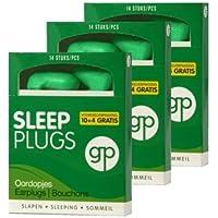 LEISTUNGSPAKKET GP GET PLUGGED SLEEP PLUGS 3 Stück x 7 Paar Ohrstöpsel zum Schlafen, Ausruhen, zu Studieren. Gehörschutzstöpsel... preisvergleich bei billige-tabletten.eu