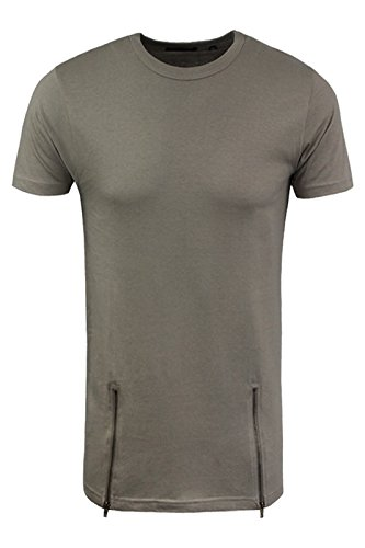 Brave Soul Herren T-Shirt Taupe